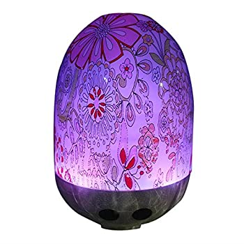 Cado 100ml Cool Mist Humidifier Essential Oil Diffusers Premium Humidifying Unit with Whisper Quiet Operation Automatic Shut Off and Night Light Function Aromatherapy