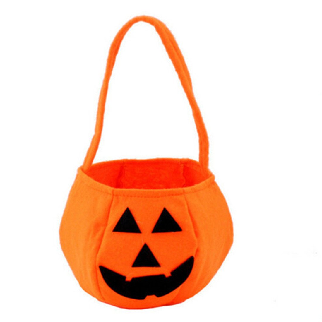 Edtoy Halloween Pumpkin Bag Kids Candy Bag for Halloween Party Costumes