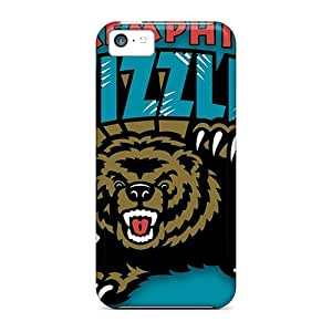Hot Memphis Grizzlies First Grade Tpu Phone Case For Iphone 5c Case Cover