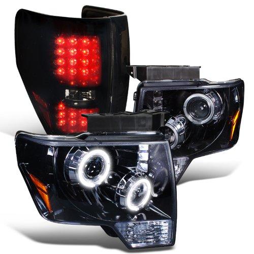 Glossy Black Smoke Projector Headlight