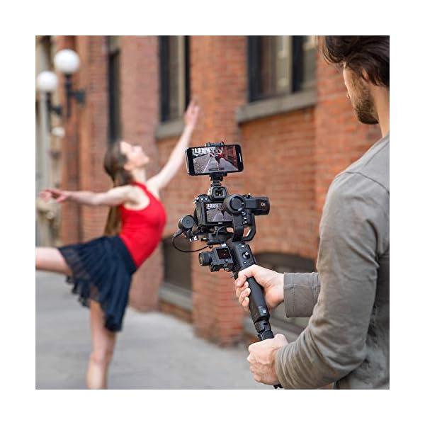 DJI Ronin-SC Pro Combo Gimbal Kit con Stabilizzatore Professionale Portatile a 3 Assi, Cavi di Controllo, Supporto, per Fotocamera Mirrorless, Compatibile con Nikon, Canon, Panasonic, Fujifilm 5 spesavip