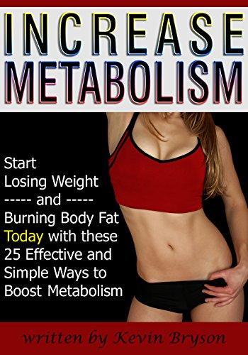 Increase Metabolism Losing Burning Effective ebook product image
