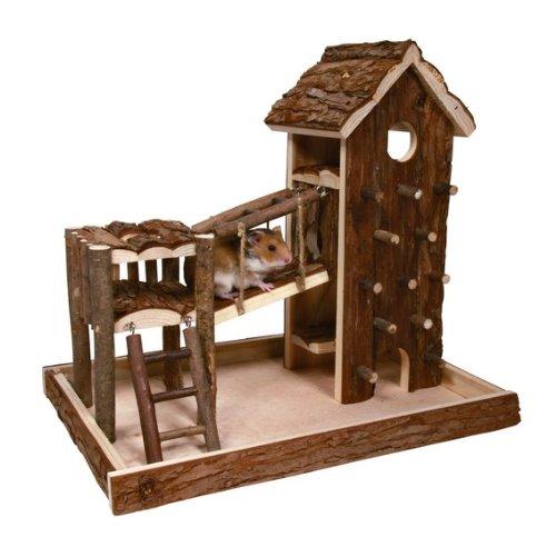 Trixie 61642 Natural Living Birger Spielplatz, 36 × 33 × 26 cm