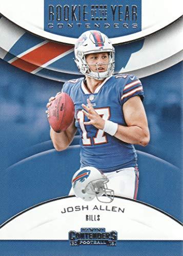 2018 Panini Contenders Football Rookie of the Year Contenders #RYA-JA Josh Allen Buffalo Bills