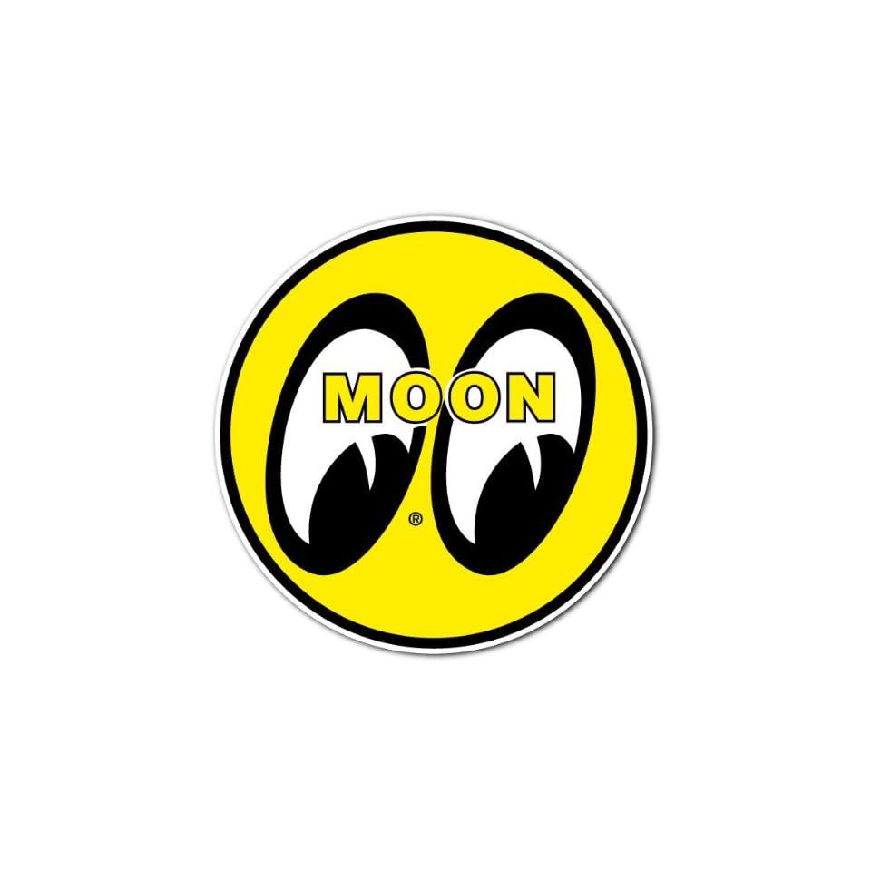 Moon Eyes Hot Rod Racing Car Bumper Sticker Decal 4x4