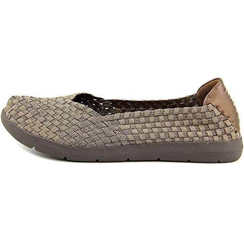 Bronze Toe Closed Slide Indiana Flats Nackte Fallen Womens BUwnqxg0v1