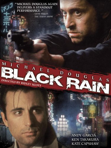 Black Rain - Set Painting Masterpiece