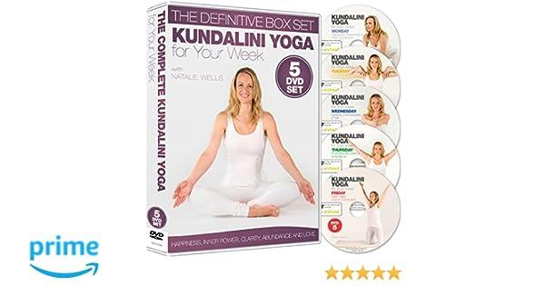 Kundalini Yoga for Your Week - The Definitive 5 DVD Boxset ...