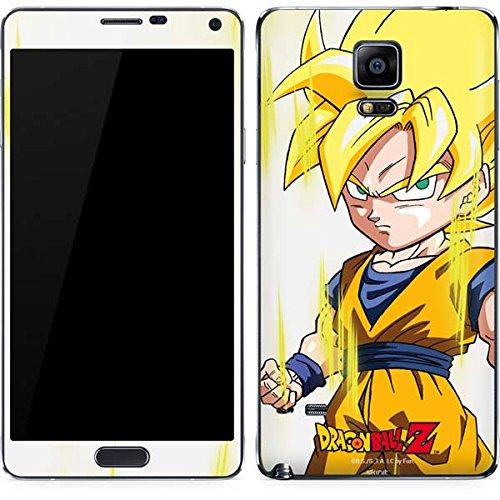 Dragon Ball Z Galaxy Note 4 Skin - Super Saiyan Vinyl Decal Skin For Your Galaxy Note 4