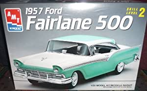 #8028 AMT/Ertl 1957 Ford Fairlane 500 1/25 Scale Plastic model kit,needs assembly