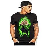 Broly Dragon Ball Z Super T-Shirt S-3XL (Large)