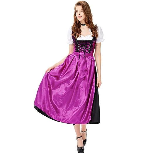TIANFUSW - Conjunto de Disfraz de Dama Francesa Sexy para Mujer ...