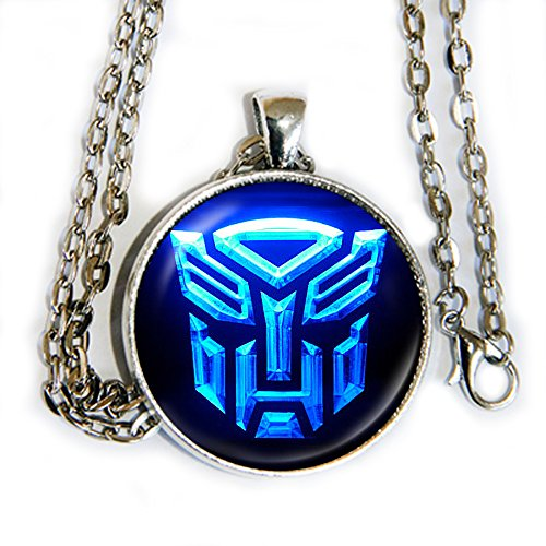 Arcee Transformers Costume (Autobots Blue pendant necklace - Transformers - HM)