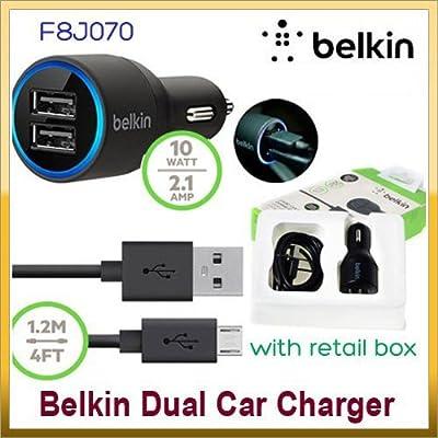 Belkin VCellOnline© - Cargador de Coche USB de Doble Puerto ...