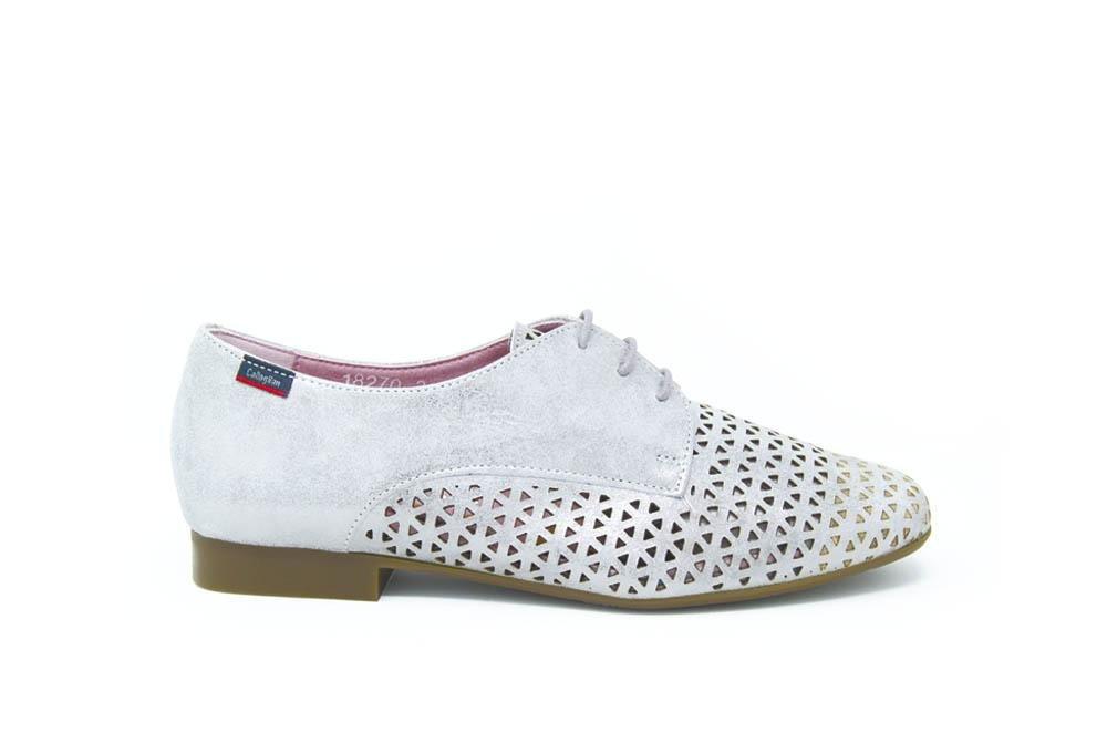 Callaghan - Zapato Blucher para Mujer - Plomo Mujer 37 EU|Plomo