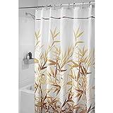 InterDesign 36511 Anzu Fabric Shower Curtain  - Stall, 54