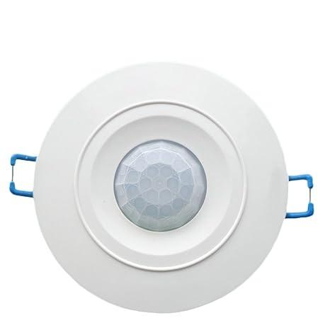 DaoRier 12 V techo PIR Ocupación Sensor De Movimiento Detector Interruptor de luz