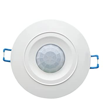 DaoRier 12 V techo PIR Ocupación Sensor De Movimiento Detector Interruptor de luz: Amazon.es: Bricolaje y herramientas