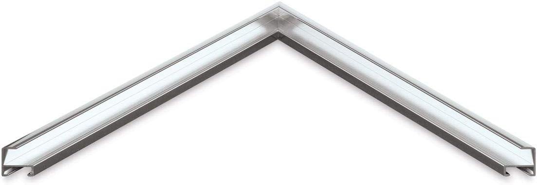 Nielsen Bainbridge Metal Frame Kit silver 23 in.