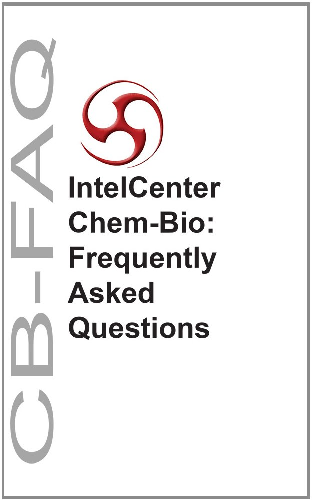 Download IntelCenter Chem-Bio: Frequently Asked Questions (CB-FAQ) PDF