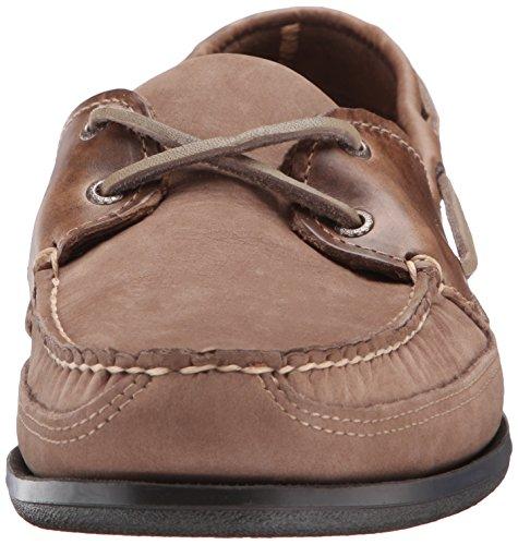 Náuticos Zapatos Sebago Dark Hombre Schooner Taupe qwv0OU
