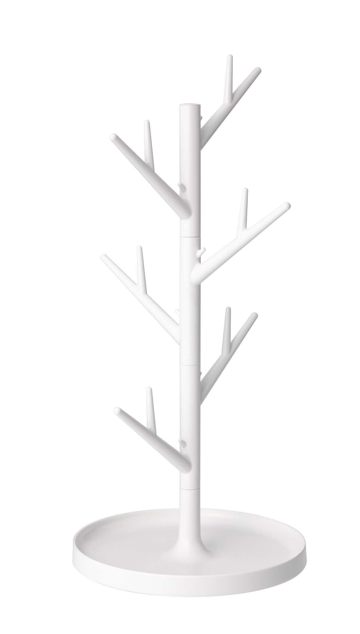 YAMAZAKI home Branch Glass Stand, White