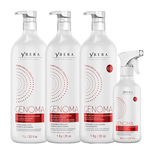 Keratin Ybera Genoma Cortex Transfusion Therapy 35.20 Oz by Ybera Professional (Image #8)