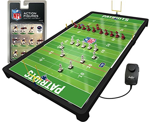 - New England Patriots NFL Deluxe Electric Football Game
