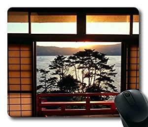 Kinkazan Island Japan Masterpiece Limited Design Oblong Mouse Pad by Cases & Mousepads