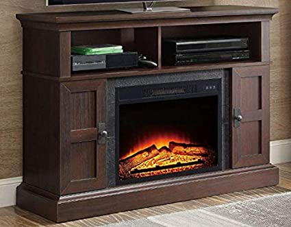 Fabulous Amazon Com Whalen Media Fireplace Console For Tvs Up To 55 Download Free Architecture Designs Grimeyleaguecom