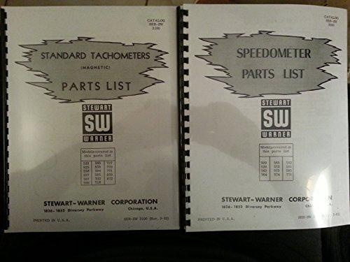 ometer & Tachometer Parts & Service 3 manuals ()
