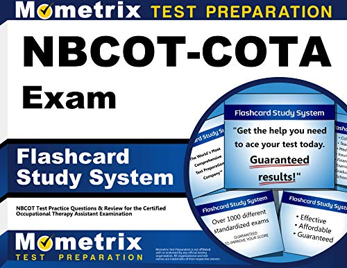 NBCOT-COTA Exam Flashcard Study System: NBCOT Test Practice Questions & Review for the Certified Occupational Therapy Assistant Examination (Cards)