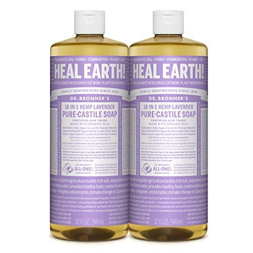 Dr. Bronner's - Pure-Castile Liquid Soap (Lavender) - Made...