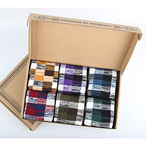 Gift Box - Mens Socks - Cotton Funky Socks Mens - Colorful Design Cotton Rich Sock 6-11 UK, Multicoloured