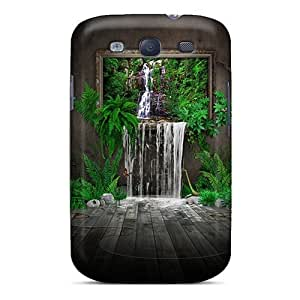New Arrival Painted Waterfall 3d Myc4763EMsc Cases Covers/ S3 Galaxy Cases