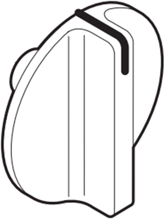 154338304 Knob Genuine Original Equipment Manufacturer (OEM) Part Bisque