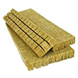 Grodan Rockwool Cubes (1. 5 Inches) 98 Per Sheet - Case of 30
