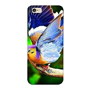 Premium Flip Fruit Dove Skin Case Cover For Apple Iphone 6 Plus 5.5 Inch As Christmas's Gift