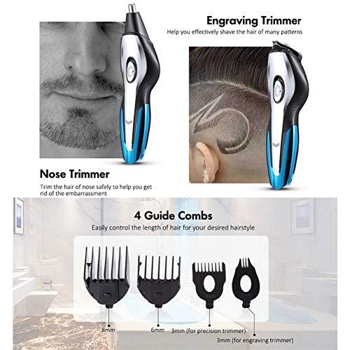 WARNIT Kit de aseo para hombres todo en uno, recortador de barba ...