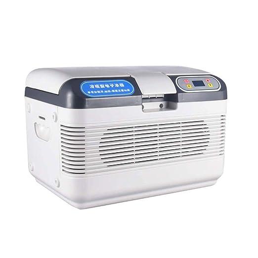 JUZZQ Mini Nevera, Refrigerador PortáTil, Refrigerador para Autos ...