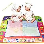 stewarted Magic water canvas writing blanket painting graffiti Kids Educational Toy children's baby toys monochrome 8060cm