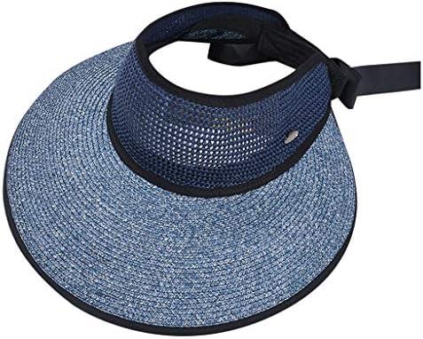 RISTHY Sombrero de Paja Plegable Gorro de Pescador Ala Ancha ...