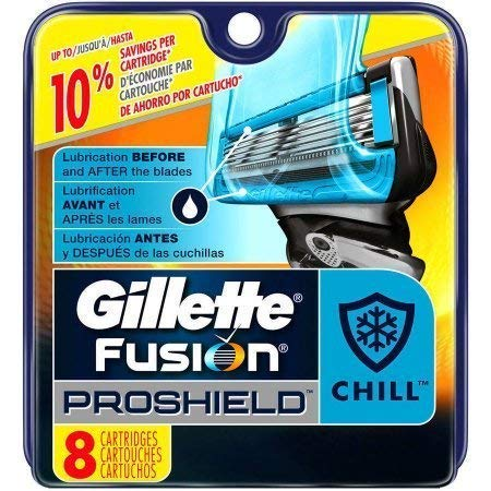 Gillette Fusion Proshield Chill refills 8 ct