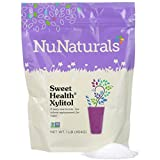 NuNaturals - Sweet Health Pure Xylitol (Keto Diet Friendly) - Natural Sweetener Non GMO - Gluten Free - 1 lb