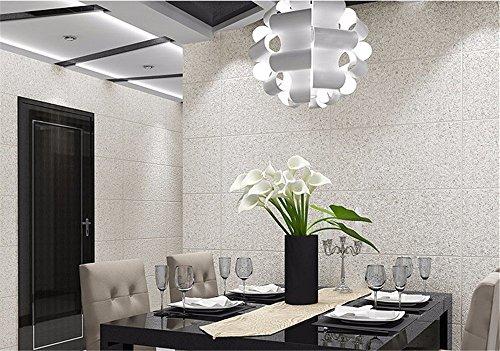 DIDIDD Decoración de la pared-una moderna imitación de azulejos de baldosas de rayas wallpaper 3D dormitorio simple sala de...