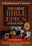 The Great Bible Epics Collection - Saul of Tarsus the Life of Saint Paul , Constantine and the Cross , the Power of the Resurrection , I Beheld His Glory - 3 Disc Box Set - 330 Minutes