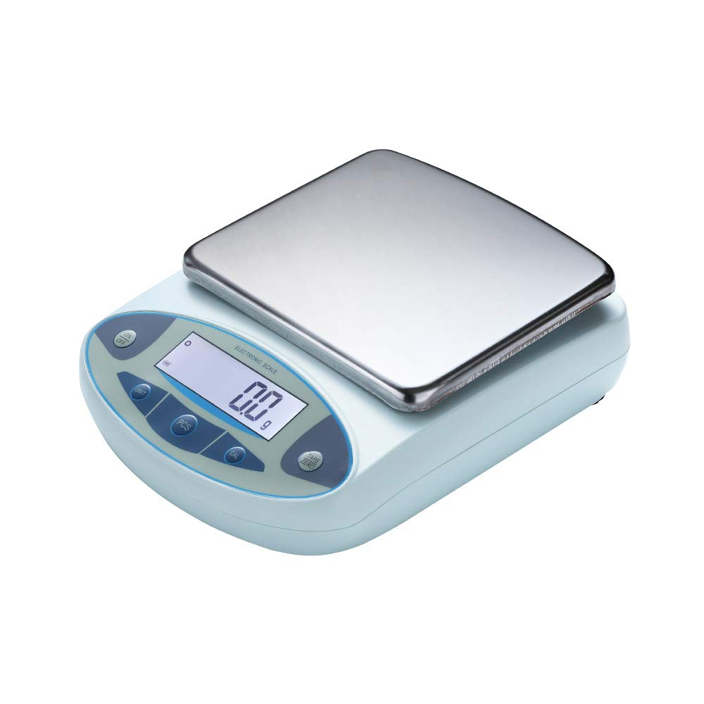 RESHY High Precision 10kg x 0.1g Digital Accurate Electronic Balance Lab Scale Precision Scale Laboratory Weighing Industrial Scale Kitchen Scale Counting Scale Scientific Scale