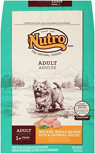 Nutro Natural Choice Chicken, Brown Rice and Oatmeal Dry Dog Food, 30-Pound Bag by Nutro