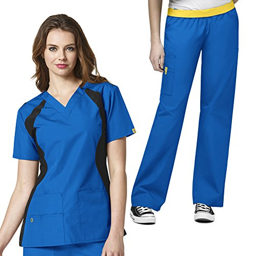 WonderWink Womens V neck Cargo Scrub product image