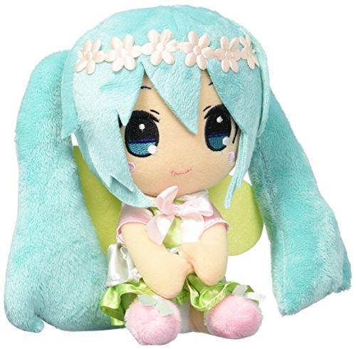 "Taito 459911200A Vocaloid Stuffed Plush 6"" Hatsune Miku with"